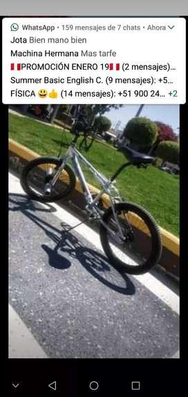 Bicicleta vendo o cambio por celular mínimo 4 de ram 64