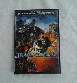 Películas originales Transformes I y II