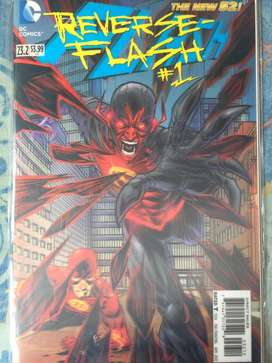 DC New 52 Reverse Flash #1 comic ingles