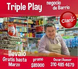 CLARO INTERNET TELEVISIÓN