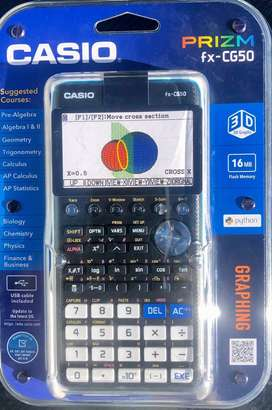 Calculadora Graficadora Casio FX-CG50 nueva en caja sellada