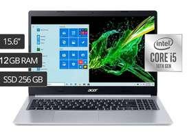 Computador Portatil Acer Core I5 12gb Ram 256gb Ssd Disco