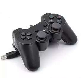 Control De Juegos Gamepad Pc Analogo Para Pc Usb  Vibracion  CD INSTALACION