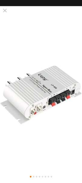 Amplificador audio esterio