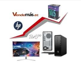 HP PC Computador Mini I5 9400 8gb 1tb Monitor 24 CPU WIFI