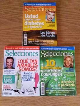 Colección de Revistas Selecciones de Reader´s Digest en perfecto estado