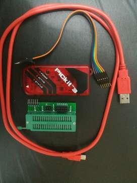Pickit 3  Zócalo Cable Pc  Bus Datos