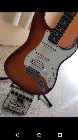 De oferta Guitarra semiprofesional Fender