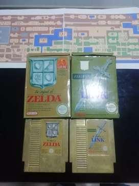 Zelda 1 y 2 nes