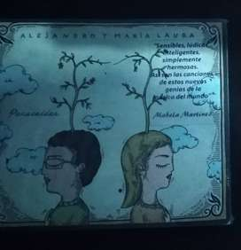 REMATO OFERTA Alejandro y Maria Laura Paracaidas CD LP Cassette Vinilo Punk Pop Rock Peru REMATE CHORRILLOS