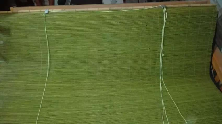 Cortina de bambu enrrollable 0