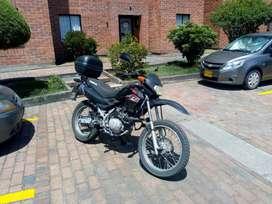 Moto Honda 125 todoterreno