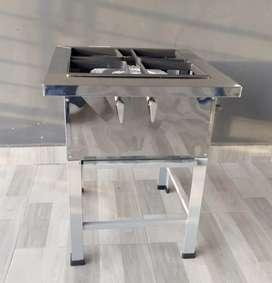 Estufa cocina industrial doble quemador