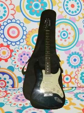 Guitarra eléctrica Anderson Stratocaster + afinador + mini amplificador + funda de regalo