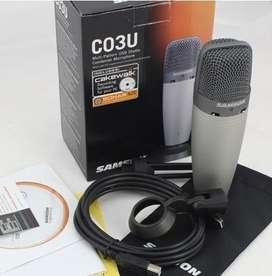 Microfono Condenser Usb Samson C03U