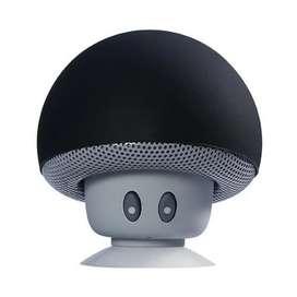 Parlante tipo hongo con conexión Bluetooth