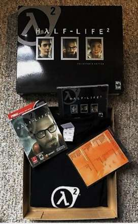Half Life 2collectors Edition ** ** Ulrta Raro Con Tshirt XL