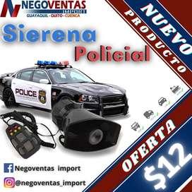 SIRENA POLICIAL