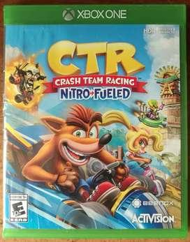 "Crash Team Racing Nitro Fueled ""CTR"" para Xbox One"