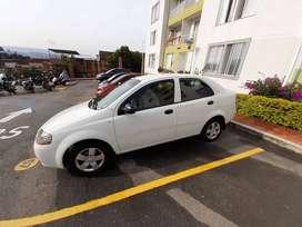Chevrolet aveo sedán modelo 2011