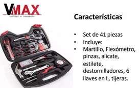 Set de herramientas vmax 41 piezas