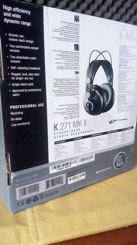 Audífonos AKG K271MKII