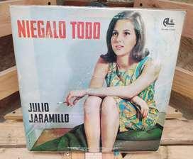 Long Play Lps Discos Acetatos Pasta Vinilos Vinyl Julio Jaramillo