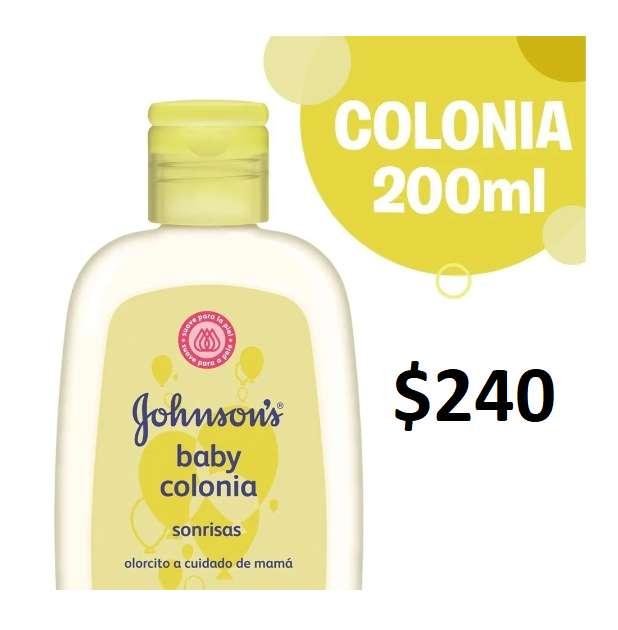 Colonia Sonrisas Johnson's Baby 200ml 0