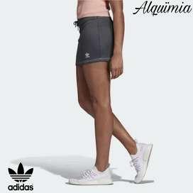 Adidas: Falda Originals / Color Gris