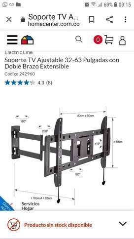 Base para TV de  63  a 32 pulgadas tv gr