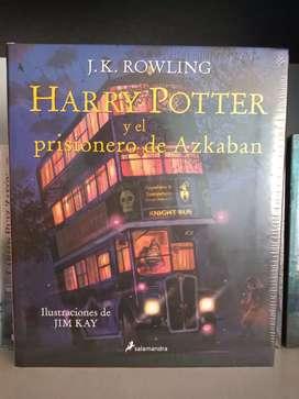 Harry Potter y el prisionero de Azkaban (Ilustrado) Libro