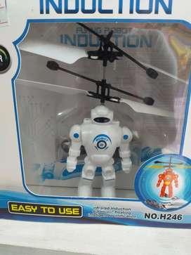 Muñeco volador con sensor