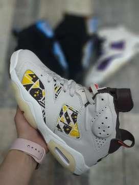 Tenis Nike Jordan Retro 6 caballero