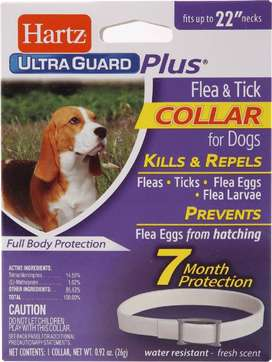 Collar Antipulgas para perro Hartz Ultraguard Plus - Dura 7 Meses
