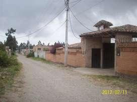 VENTA TERRENO 6006 m2 CON CONSTRUCCIÓN ANTIGUA EN MARIANITAS DE CALDERON SECTOR ALBORNOZ