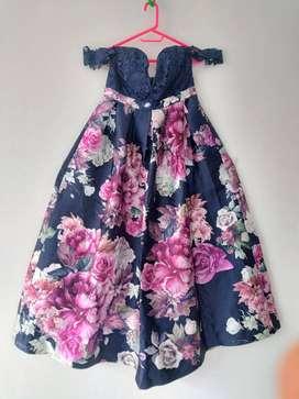 Vestido de diseñador original