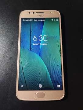 Moto G5s plus 32GB blush gold 3GB de RAM