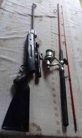 Vendo articulos de pesca ambas cosas por $5000 en excelente estado,soy de San Miguel,Tucuman