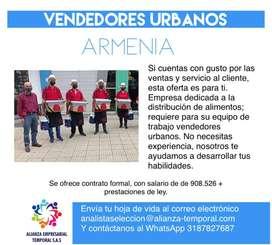 VENDEDORES -  EXTERNOS ARMENIA