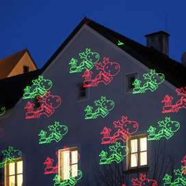 Maravilloso proyector luz led. Pará Navidad. 8 motivos. Adquierelo Ya!