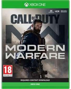 Call Of Duty Modern Warfare Warzone - Juego Físico