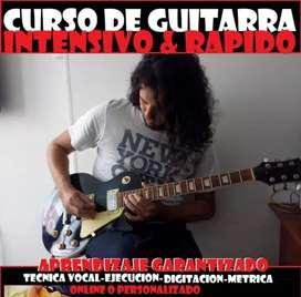 Curso súper rápido de guitarra