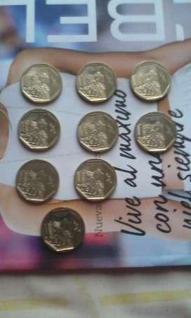 Monedas colección machu picchu usada d14