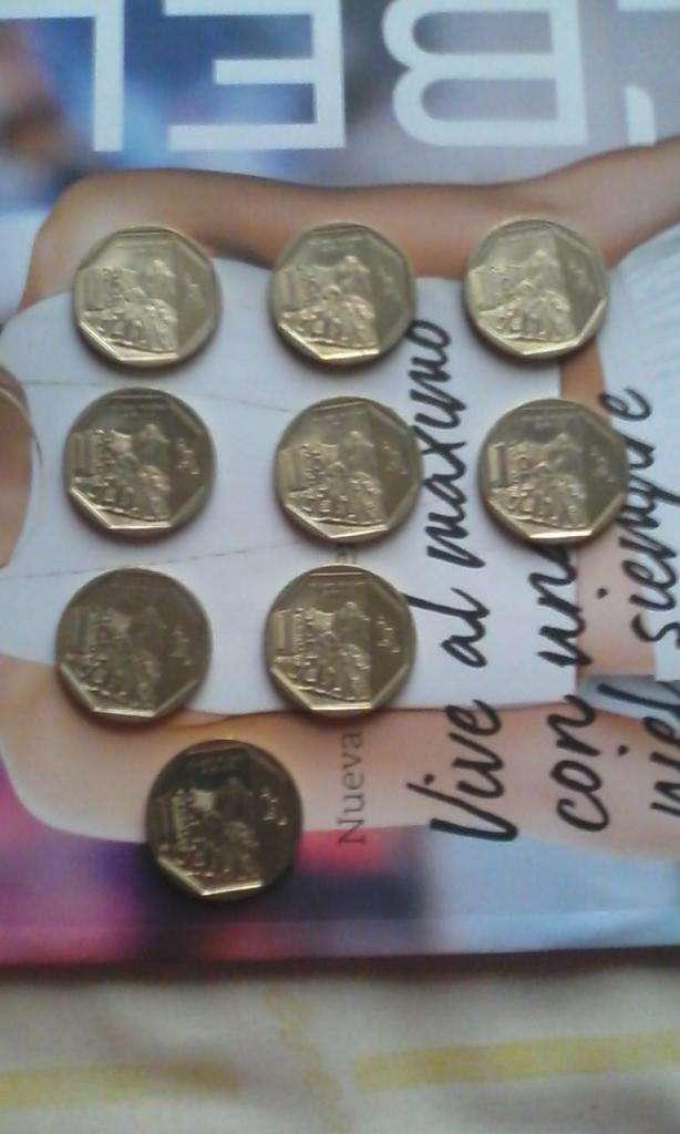 Monedas colección machu picchu usada d14 0