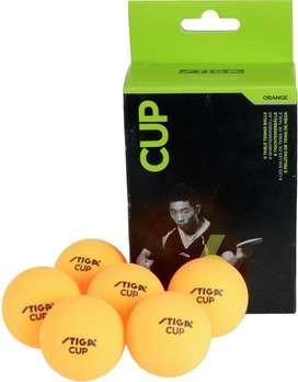 Seis Pelotas Ping Pong Tenis De Mesa Cup / Club Select