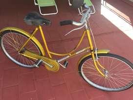 Bicicleta  antigua para dama