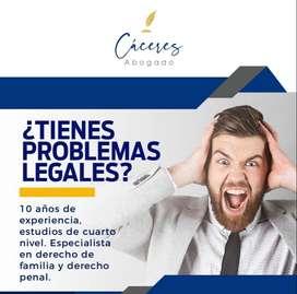 Abogado de familia y derecho penal