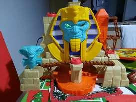 Piramide de ataque de sepiente, imaginext fisher price