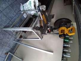 Maquina acolilladora de aluminio