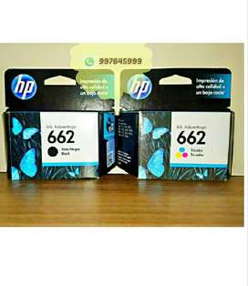 Cartucho hp 662 original